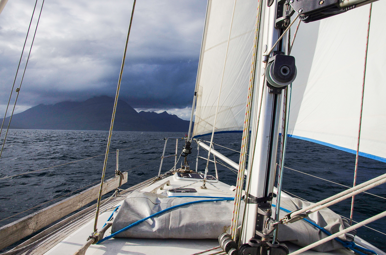 Sail Britain Approaching Skye